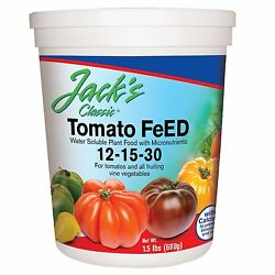 JR Peters Jack#x27;s Classic 12 15 30 Tomato Feed 1.5 lb. Fertilizer Plant Food $19.99