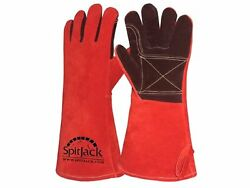 SpitJack Deluxe Fireplace & Barbecue Gloves New Free Shipping
