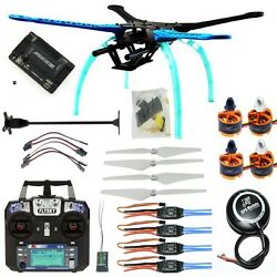Drone Quadrocopter 4 axis Aircraft Kit 500mm Frame 6M GPS APM2.8 FS i6 F08151 M $176.86