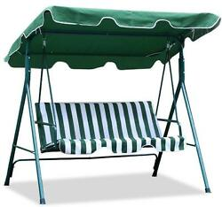 3 Person Seater Patio Canopy Swing Chair Backyard Seat Beach Porch Furniture