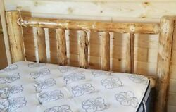 STANDARD LOG HEADBOARD Rustic- FREE SHIPPING! Log Headboard Cabin Decor!