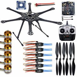 S550 F550 Kit DIY Drone Hexacopter 6 Axis Frame Kit RC Helicopter F08618 A $205.87