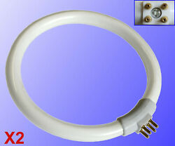TWO Replacement Bulb for Magnifying Desk Lamp Light fits Alvin ML150 and more! $12.49
