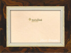 Natalini Hand Made italy Wood Marquetry Photo Frame 4x6 5x7 8x10 Picture New $34.99
