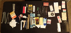 Vintage ESTATE LOT~QUILTING PINS~SUPPLIES~EMBROIDERY NEEDLES~SEWING