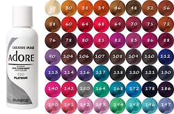 Adore by Creative Image Semi Permanent Hair Dye Color 118mL You Pick Your Color