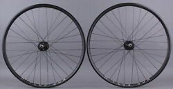 H Plus Son Archetype Black rims Track Fixed Gear Bike Wheelset DT Radial Front $329.00