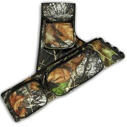 ARCHERY FOUR TUBES SIDEHIP BELT ARROW QUIVER FAQ151 RH CAMO