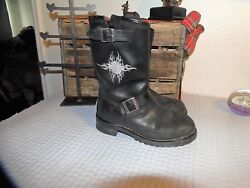 Harley Davidson Boots 8.5 Leather Motorcycle boots Sz 8.5 harley boots 8.5 $79.99