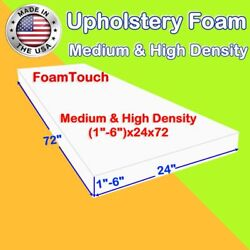 High and Medium Density by #FoamTouch Upholstery Foam Sheets (1-6)