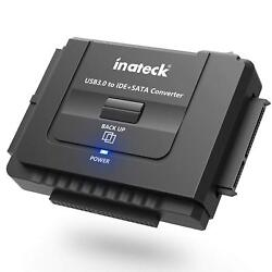Inateck USB 3.0 to IDE SATA Converter Adapter For 2.5quot; 3.5quot; SATA IDE Hard Drive $24.93