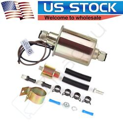 12V Universal Low Pressure Electric Fuel Pump Kit E8012S $13.79