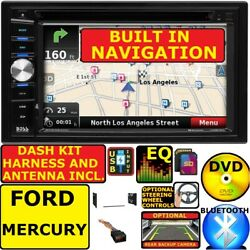 FORD MERCURY GPS NAVIGATION SYSTEM BLUETOOTH CD DVD Car Radio Stereo Double Din $279.99