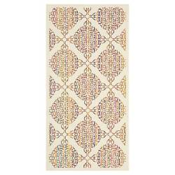 Bastima Outdoor Patio Rugs - WheatMulti-color
