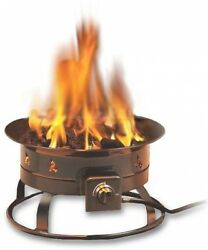 Propane Firepit Portable Outdoor Backyard Patio Tailgate Camping Fireplace Gas