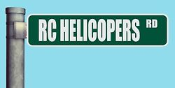 RC HELICOPTERS RD STREET SIGN ROAD HEAVY DUTY ALUMINUM ROAD SIGN 17quot; x 4quot; $18.99