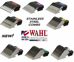 WAHL STAINLESS STEEL Attachment GUIDE CLIP ON COMB*Fit Many AndisOster Clipper $14.99