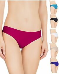 6 Womens Seamless Teens Yoga Sport Panties Pack Bikini Laser Cut Underwear Lot S $14.99