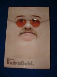 Superb rare book -  Extra Bold by Serial Cut (ISBN 9788415308249)  MINT *LQQK*