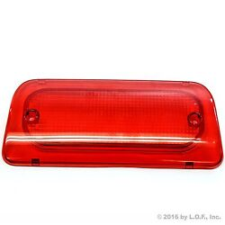 Fits Extended Cab 3rd Brake Light Lens Fits S-10 Sonoma 94-04 High Third New $14.95