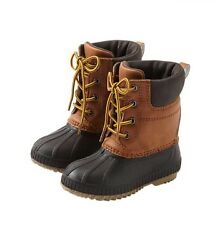 GAP Baby Toddler Boys 9T 10T 3M Brown Thinsulate Waterproof Duck Snow Boots $59.99