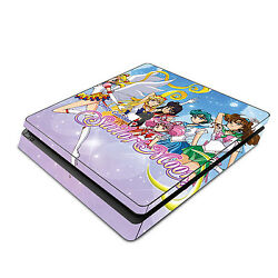 Sony PS4 Slim Skin Decal Sticker Vinyl Wrap - Sailor Moon Pretty Guardian 2