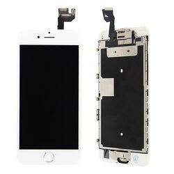 New White Full LCD Screen Display 3D Touch Screen Digitizer For iPhone 6S 4.7 $25.88