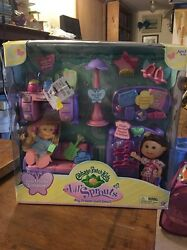 CABBAGE PATCH KIDS LIL'S SPROUTS BIG DREAMS SLEEP OVER PARTY FURNITURE KIT