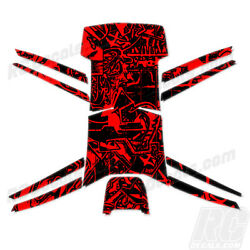 Protective Vinyl Skin Decal for Parrot Bebop Quadcopter Drone wrap Graffiti