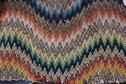 Rare 1600s To Early 1700s Wool Handwork Flame Stitch Home Dec Antique Textile