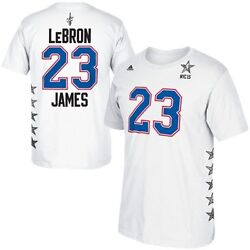 Adidas LeBron James Eastern Conference 2015 NBA All-Star Game Men's T-Shirt 2XL