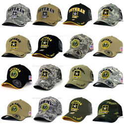 U.S. ARMY Hat Military ARMY Officially Licensed Baseball Cap Adjustable Size $10.85