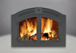 NEW NAPOLEON NZ6000 HIGH COUNTRY WOOD BURNING FIREPLACE - PACKAGE DEAL!