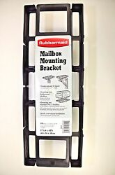 Rubbermaid Mailbox Mounting Bracket 17x6x4 Inch Mounts on 4x4 Post