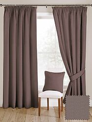 McAlister Textiles Herringbone Wool Look Made to Measure Lilac Purple Curtains