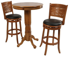 Hayneedle Furniture Home Bar Height Patio Pub Table And Chairs Oak Coffee Small