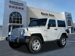 2014 Jeep Wrangler Sahara Bright White Clear Coat Jeep Wrangler with 42759 Miles available now!