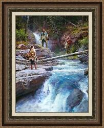 WHERE WATERS RUN COLD by Martin GRELLE. SOLD OUT! MAGNIFICENTLY FRAMED PPR #1