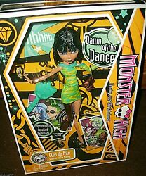 Monster High Cleo de Nile Daughter of The Mummy Doll NIB 2009 Wave 11st Release