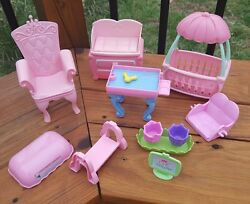 Cabbage Patch Kids CPK Lil' Sprout doll furniture bed chair