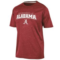 Alabama Crimson Tide NCAA Champion quot;Impactquot; Men#x27;s Performance S S Shirt $9.95