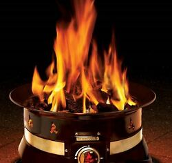 Outland Premium Gas Patio Fire Pit Camping Wood Decks Tabletop Tail Gate NEW