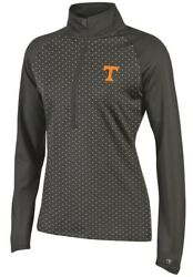 Tennessee Volunteers Womens NCAA Champion Goal in Reach 12 Zip Pullover Shirt $34.95