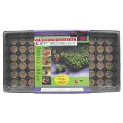 GREENHOUSE STARTER KIT JIFFY PROFESSIONAL GREENHOUSE KIT GROWS 72 PLANTS NEW