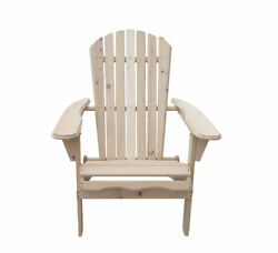 Outdoor Foldable Adirondack Wood Chair Patio Lawn Garden Furniture WPlans
