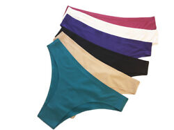 6 women seamless Yoga panties Teens underwear Lot Bikinis Nylon assorted XS $14.99