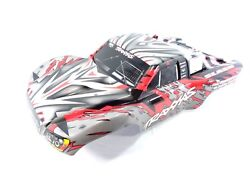 NEW Traxxas Slash 1 10 2wd 4wd Red Silver Black White Painted Body Shell 4x4 $29.99