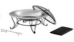 Outdoor Fireplace Kits Pits On sale Portable Patio Pot Set Ring Bowl Modern Wood