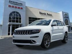 2015 Jeep Grand Cherokee SRT Bright White Clear Coat Jeep Grand Cherokee with 19551 Miles available now!