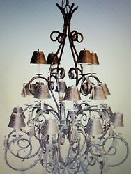 Custom Michele Chandelier 6' tall with 20 lights